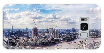 London Skyline Galaxy Cases