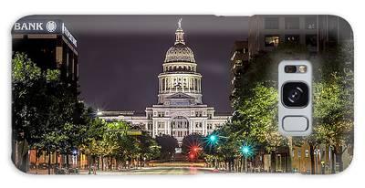 The Texas Capitol Building Galaxy Case