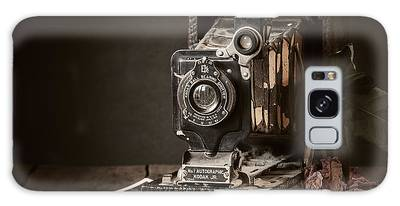 Weathered Photographs Galaxy Cases