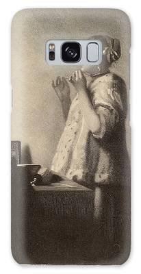 Vermeer Drawings Galaxy Cases