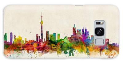 Toronto Skyline Galaxy Case