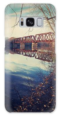 Tracks And Reflections Galaxy Case