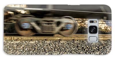 Steel On Steel 1 Galaxy Case