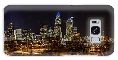 Uptown Charlotte Panorama Galaxy Case
