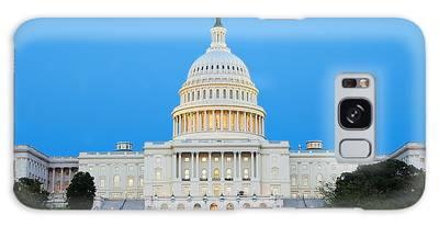 Us Capitol In Washington Dc. Galaxy Case