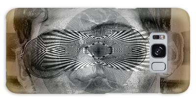 Galaxy Case featuring the digital art View by Visual Artist Frank Bonilla