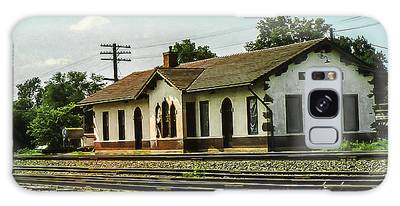 Villisca Train Depot Galaxy Case