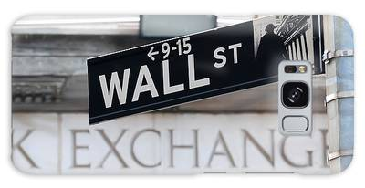 Wall Street New York Stock Exchange Galaxy Case