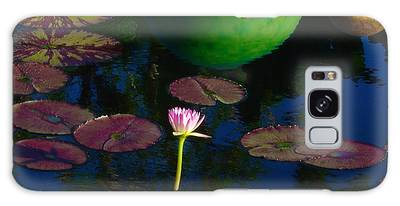 Waterlily Reflection Galaxy Case