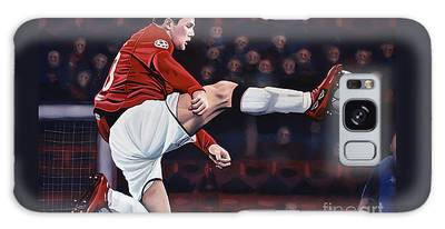 Wayne Rooney Galaxy Cases