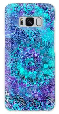 Galaxy Case featuring the digital art Where Mermaids Play by Susan Maxwell Schmidt