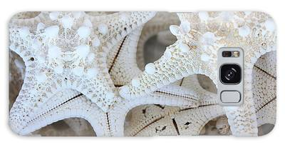 White Starfish Galaxy Case