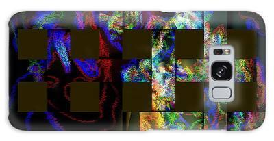 Galaxy Case featuring the digital art Window by Visual Artist Frank Bonilla