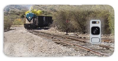Work Train In Clarkdale Arizona Galaxy Case