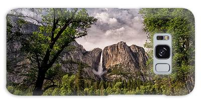 Yosemite National Park Galaxy Cases