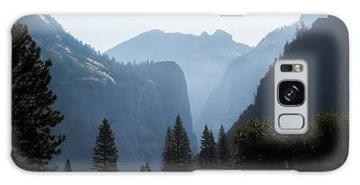 Yosemite Valley Daybreak Galaxy Case