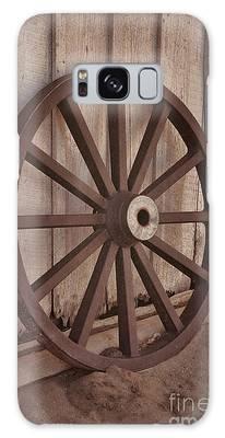 An Old Wagon Wheel Galaxy Case