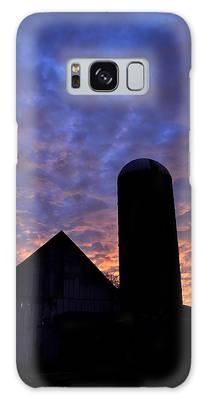 Barnyard Sunrise I Galaxy Case