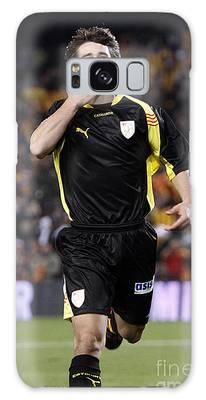 Bojan Krkic Celebrating A Goal 2 Galaxy Case