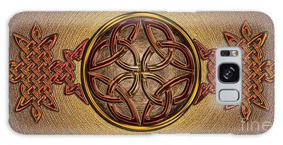 Celtic Knotwork Enamel Galaxy Case