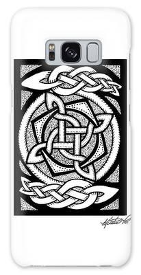 Celtic Knotwork Rotation Galaxy Case