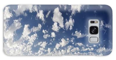 Cloudy Sky Galaxy Case