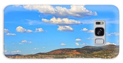 Cloudy Wyoming Sky Galaxy Case