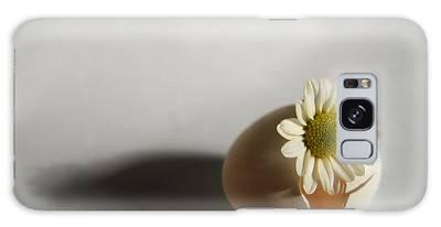 Hatching Flower Photograph Galaxy Case