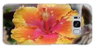 Hibiscus Yellow Galaxy Case