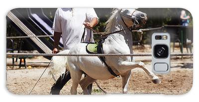 Horse Training Galaxy Case