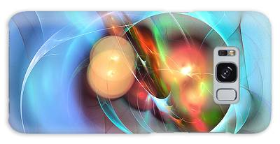 Lady Miller - Fractal Art Galaxy Case