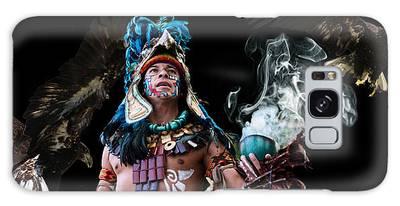 Mayan Spirit Galaxy Case