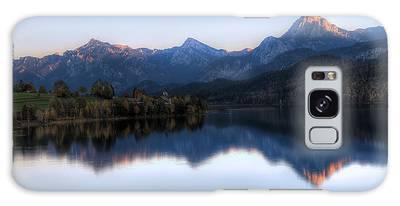 Mountain Reflections Galaxy Case