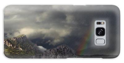 Mountain Storm Galaxy Case