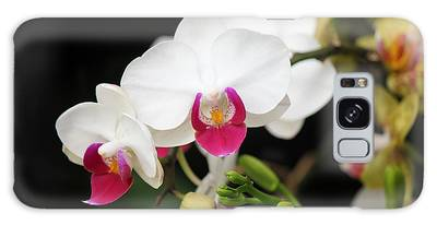 Orchid Buds Galaxy Case