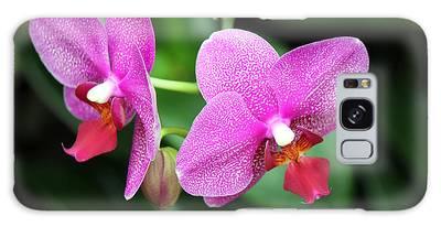 Orchid Purple Galaxy Case