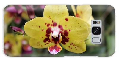 Orchid Tie Dye Galaxy Case