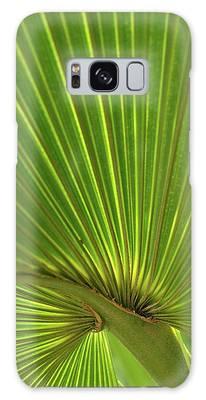 Palm Leaf Galaxy Case