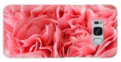 Pink Carnation Galaxy Case