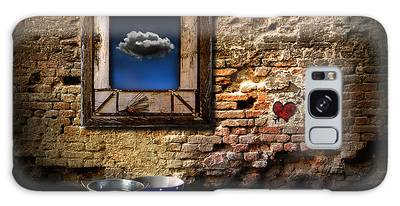 Raining In My Heart Galaxy Case