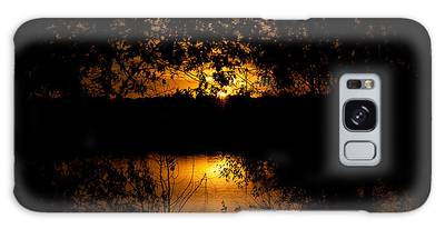 Scary Sunset Galaxy Case
