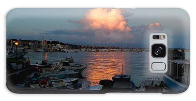 Sunset From Anzio Galaxy Case