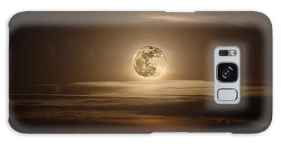 Super Moon Of 2012 Galaxy Case