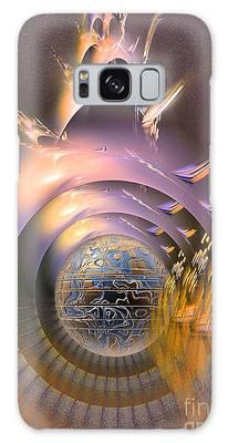 The Message - Fractal Art Galaxy Case