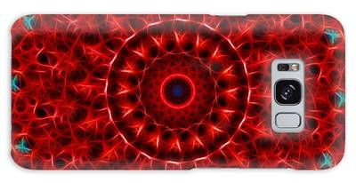The Red Abyss Galaxy Case
