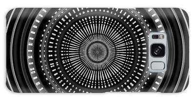 Galaxy Case featuring the digital art #011020153 by Visual Artist Frank Bonilla