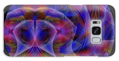 Galaxy Case featuring the digital art #021120163 by Visual Artist Frank Bonilla