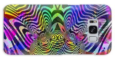 Galaxy Case featuring the digital art #021320163 by Visual Artist Frank Bonilla