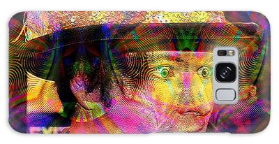 Galaxy Case featuring the digital art #021320164 by Visual Artist Frank Bonilla