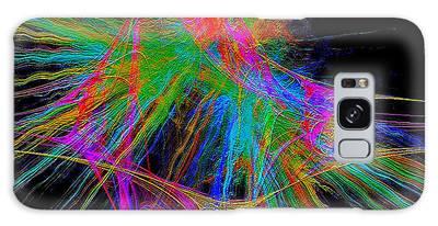 Galaxy Case featuring the digital art #030920163 by Visual Artist Frank Bonilla